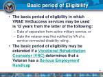 basic period of eligibility