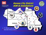 kansas city district aor installations