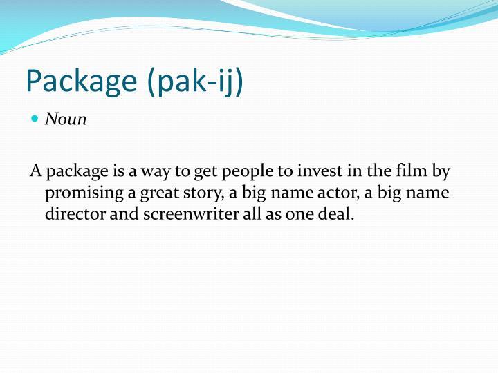 Package (