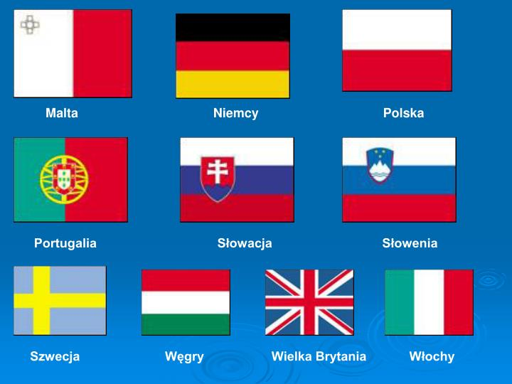 Malta                                      Niemcy                                   Polska