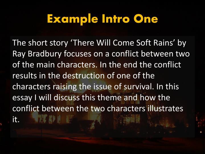 Example Intro One