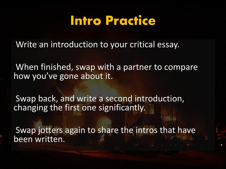 Intro Practice