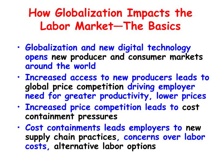 How Globalization Impacts the