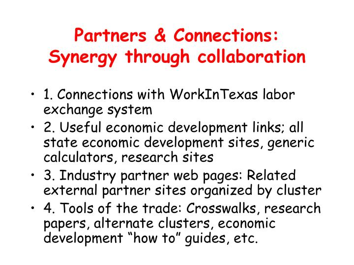 Partners & Connections: