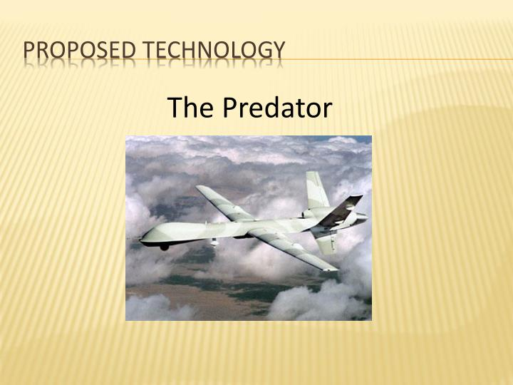 Proposed Technology