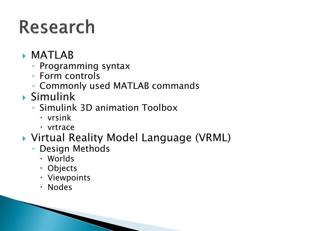 PPT - Multiple UAV Flight Simulation using MATLAB, Simulink, and