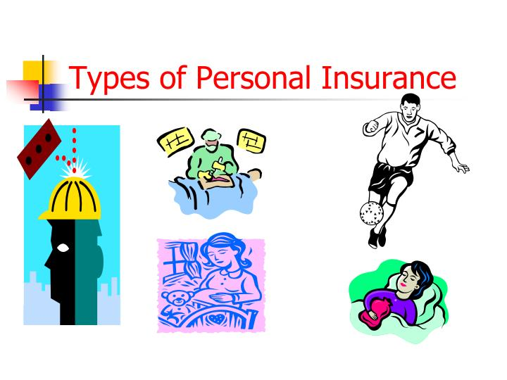 Types of Personal Insurance