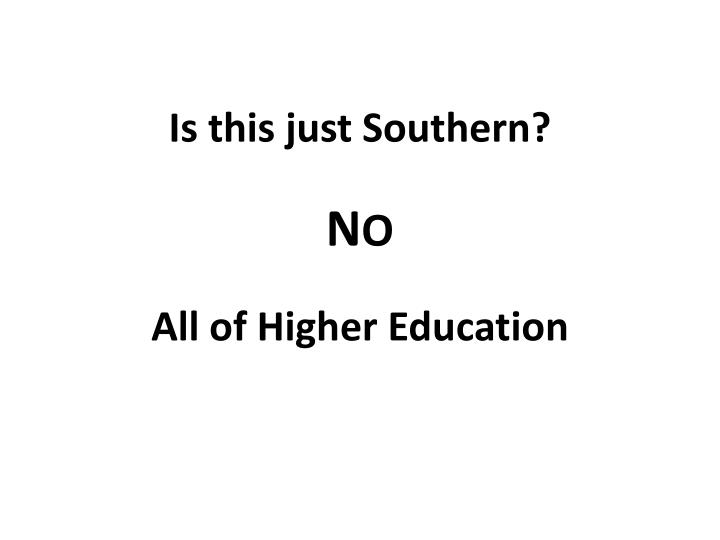 Is this just Southern?