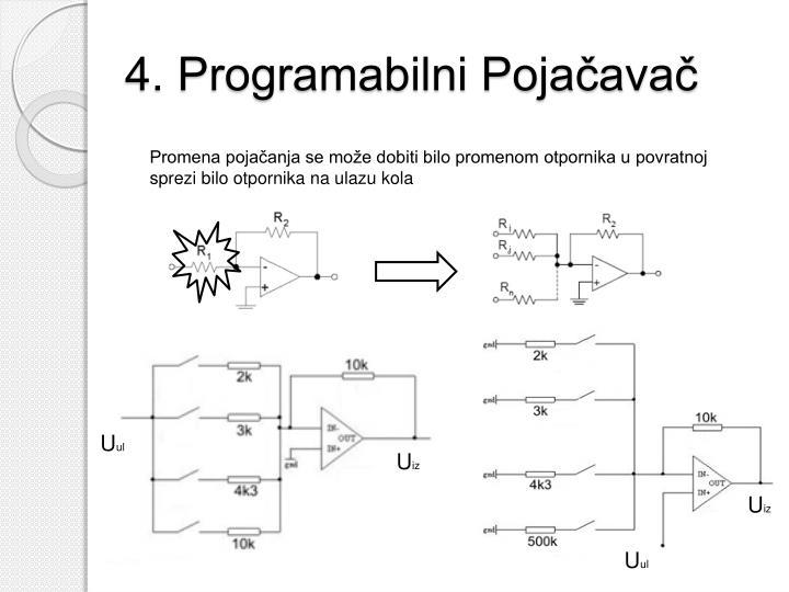4. Programabilni Pojačavač