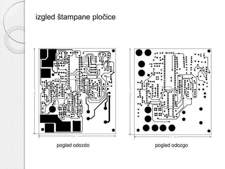 izgled štampane pločice