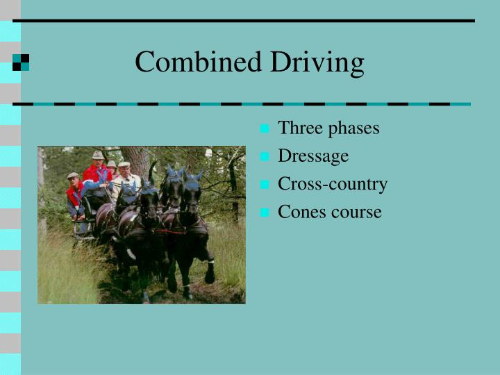 Combined Driving