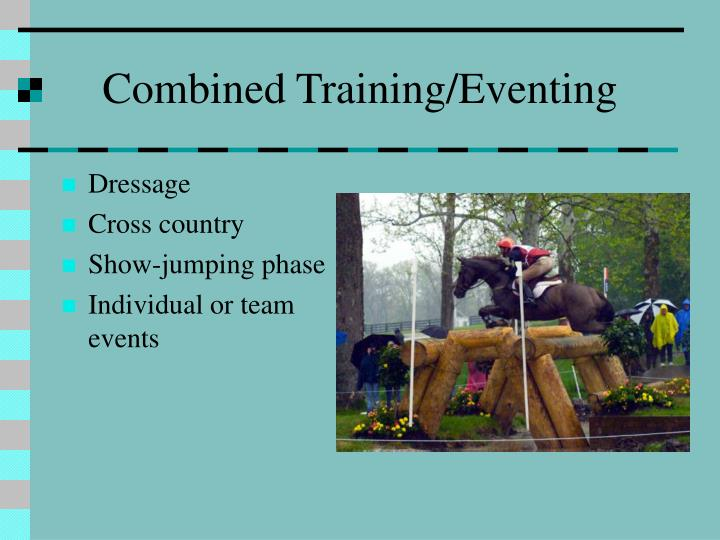 Combined Training/Eventing