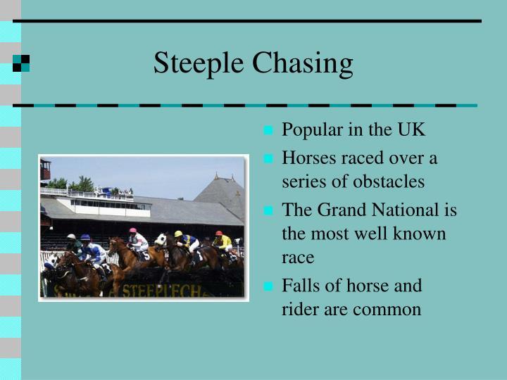 Steeple Chasing