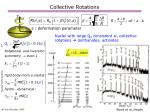 collective rotations