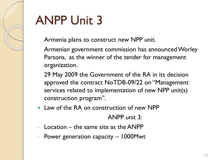 ANPP Unit 3