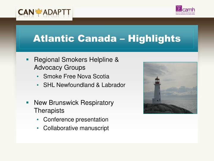 Atlantic Canada – Highlights