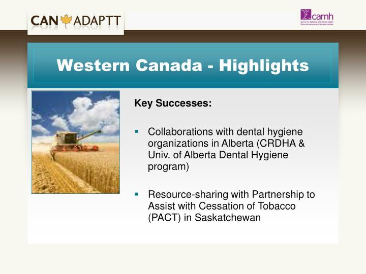 Western Canada - Highlights