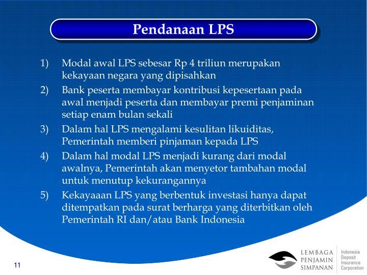 Pendanaan LPS