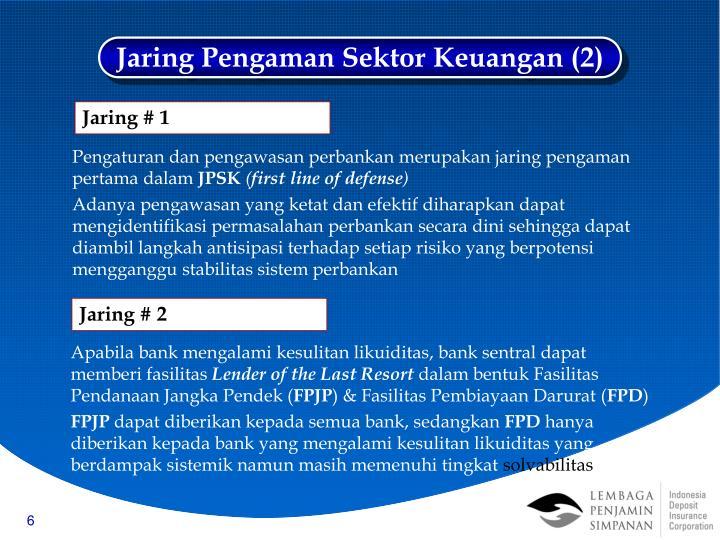 Jaring Pengaman Sektor Keuangan (2)