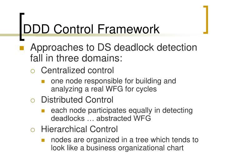 DDD Control Framework