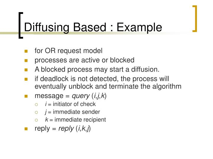 Diffusing Based : Example