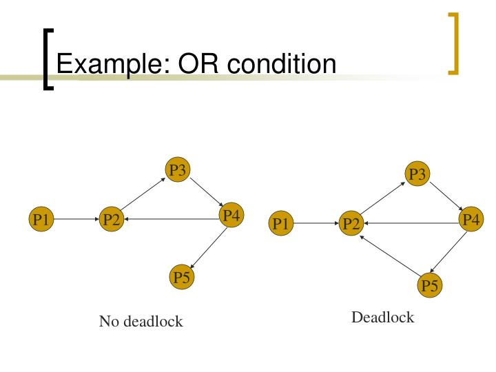 Example: OR condition