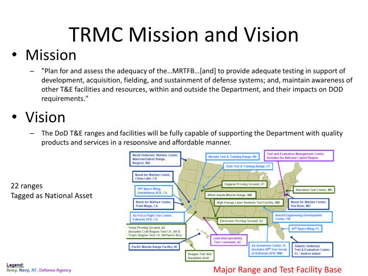 TRMC Mission and Vision