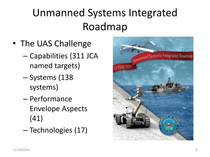 Unmanned Systems Integrated Roadmap