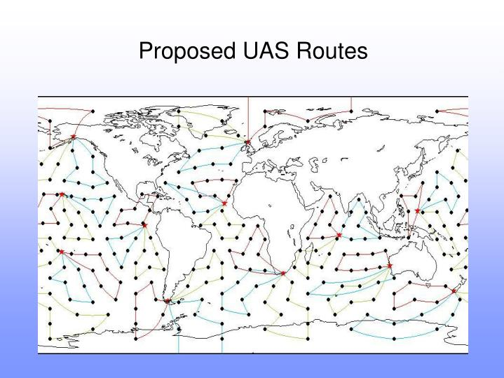 Proposed UAS Routes