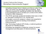 southern california gas company biomethane interconnection support