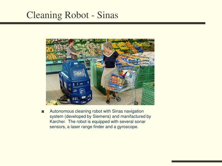 Cleaning Robot - Sinas