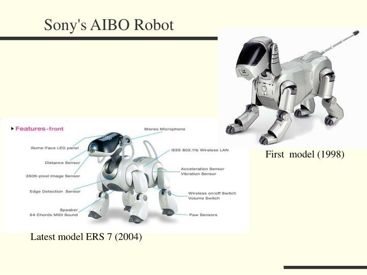 Sony's AIBO Robot