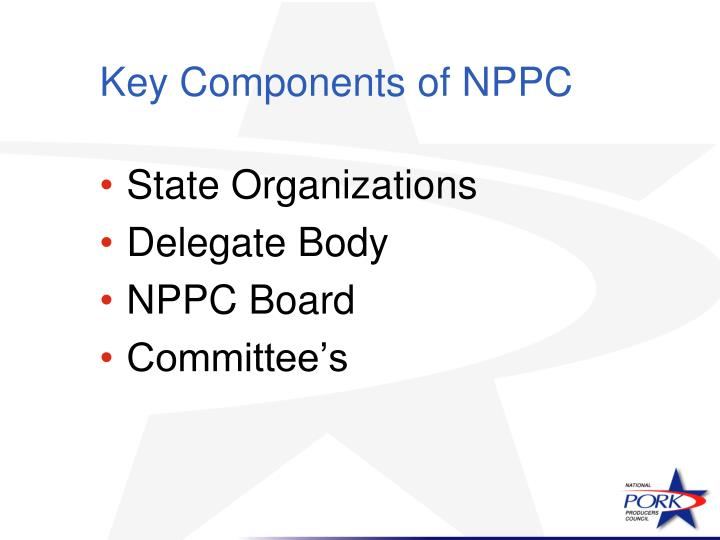 Key Components of NPPC