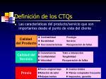 definici n de los ctqs
