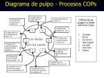 diagrama de pulpo procesos cops