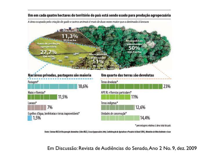Em Discussão: Revista de Audiências do Senado, Ano 2 No. 9, dez. 2009