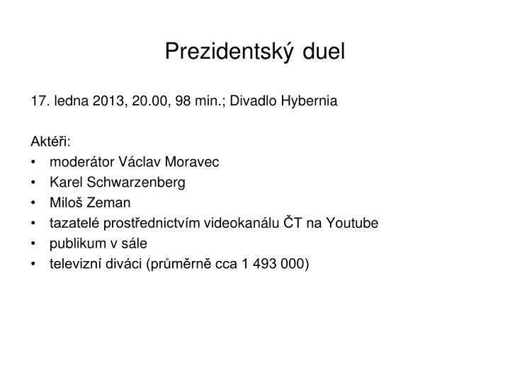 Prezidentský