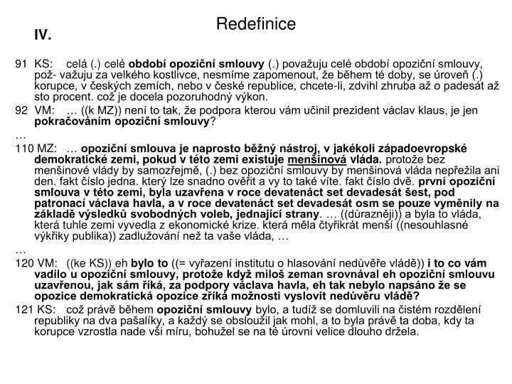 Redefinice