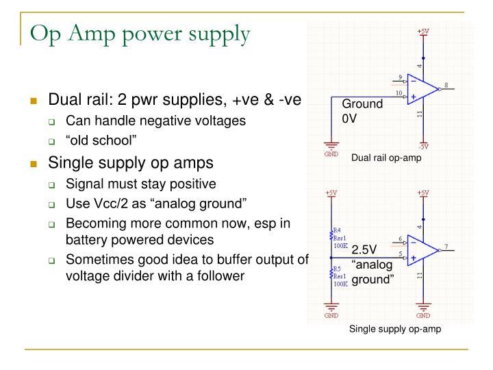 Op Amp power supply