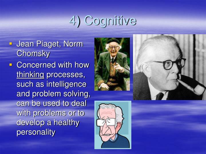 4) Cognitive