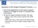 operation of the output compare function 1 of 4