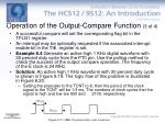 operation of the output compare function 3 of 4