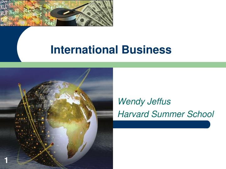 international business n.