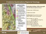 fredonia quebradona regional geology
