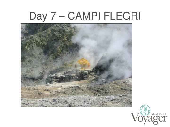 Day 7 – CAMPI FLEGRI