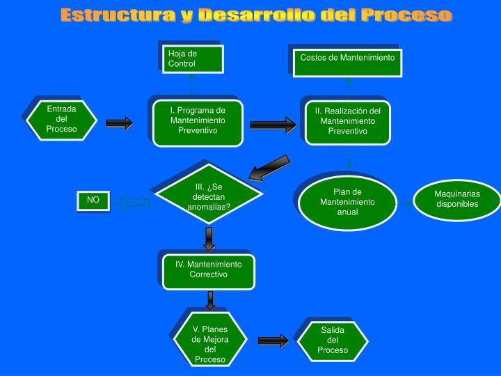 Estructura y Desarrollo del Proceso