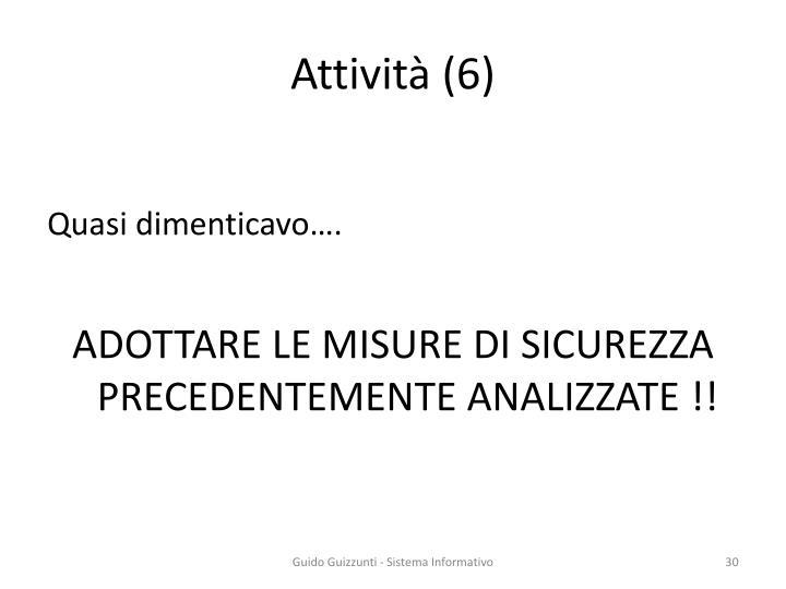 Attività (6)