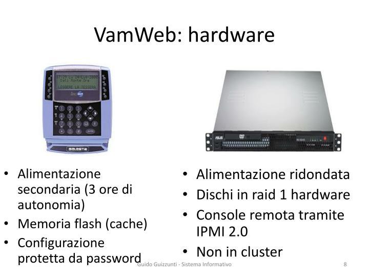 VamWeb: hardware