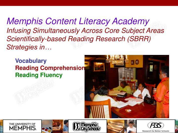 Memphis Content Literacy Academy