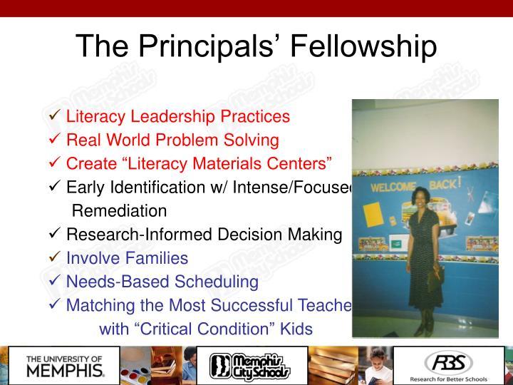 The Principals' Fellowship